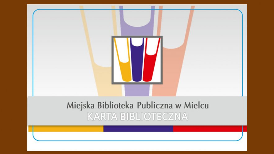 Na zdjęciu jeden z obowiązujących wzorów karty bibliotecznej MBP